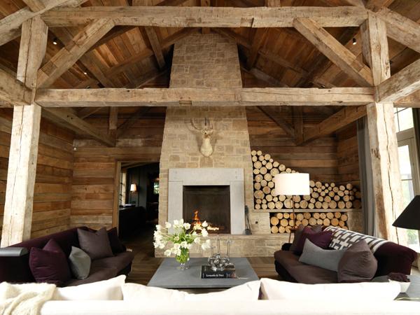 Rustic Fireplace Design Ideas