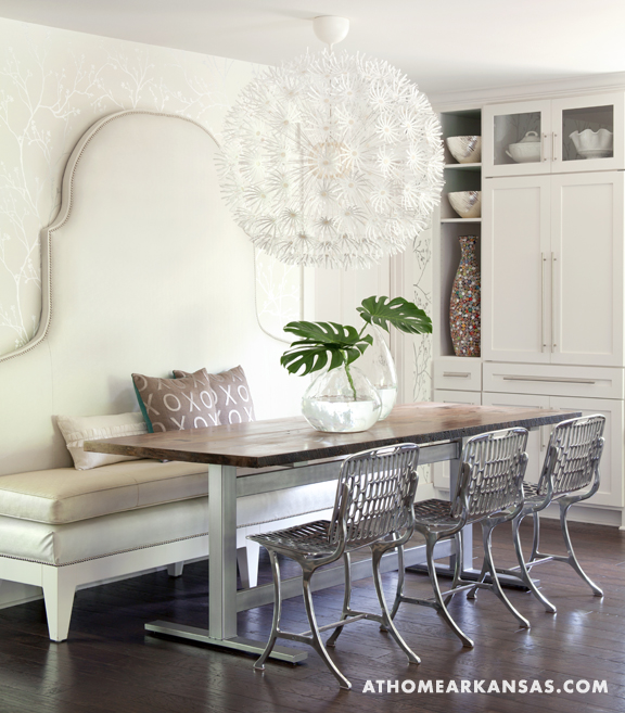 Ikea PS Maskros Eclectic Dining Room At Home In Arkansas