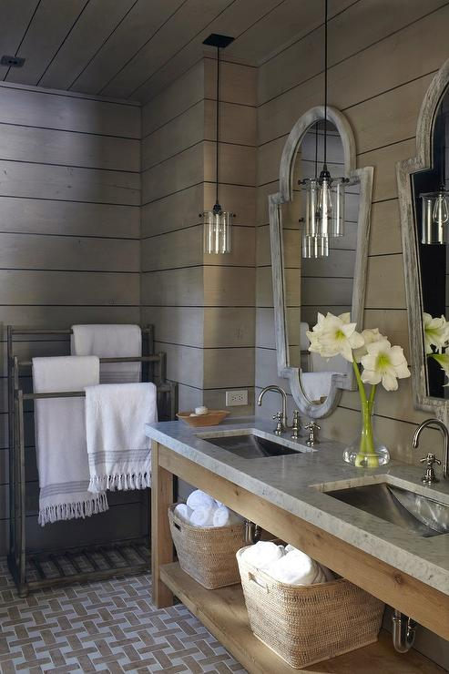 Taupe Bathroom Country Bathroom M Elle Design