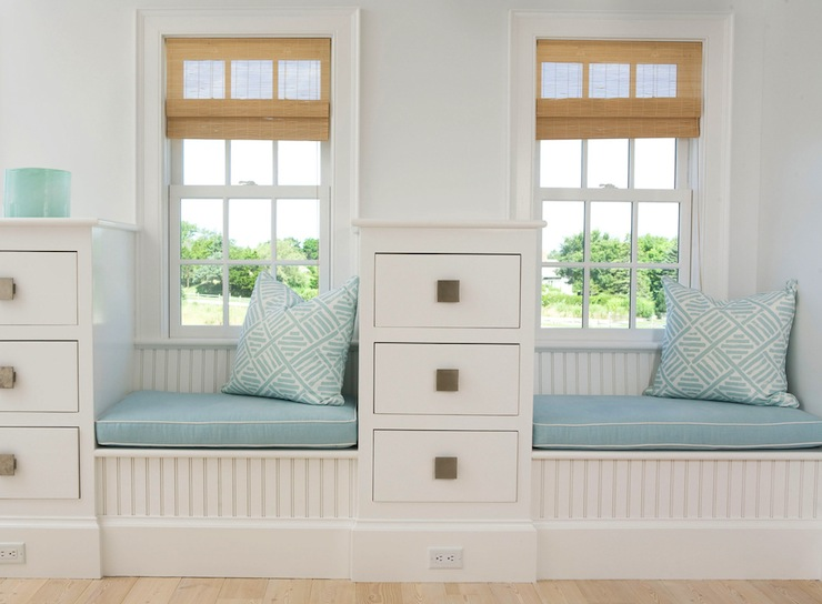 Beadboard Window Seat view full size  Bedroom built in. Built In Window Seat Design Ideas