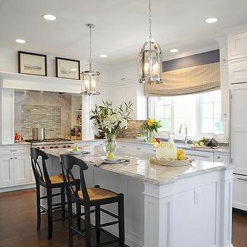 Alpine White Granite, Transitional, kitchen, Sherwin Williams Distance, J.S. Brown & Co.