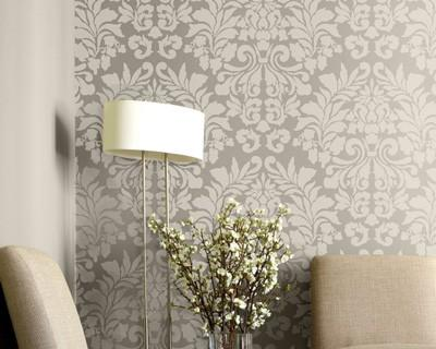 Mirrored Damask Panel Champagne I Pier1 Com