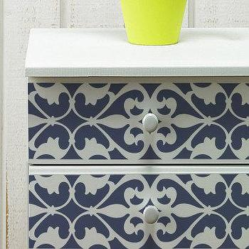 Wall and Furniture Pattern Stencil Medium by royaldesignstencils