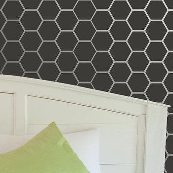 Wall Stencil Honeycomb Allover Stencil for by royaldesignstencils