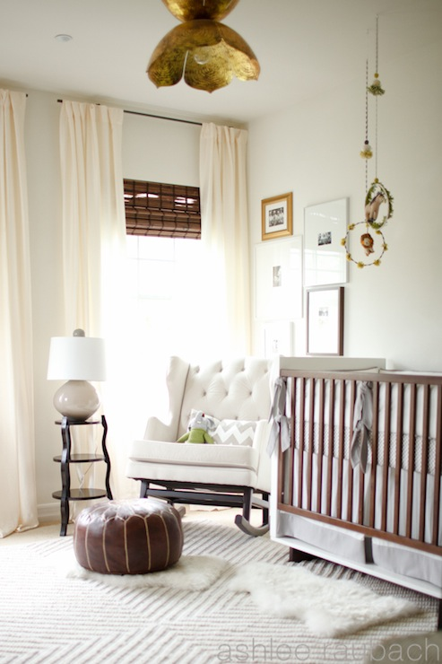 Curtains Ideas chevron curtains ikea : Ikea Window Treatments - Vintage - nursery - Benjamin Moore Frappe ...