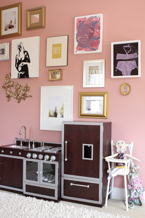Pink All-in-1 Retro Kitchen - Pottery Barn Kids