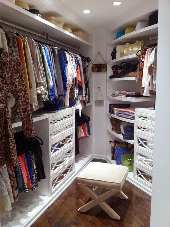 Kendall and Kyle Jenner Closet, Contemporary, closet, A.S.D. Interiors