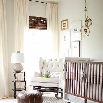 nurseryworks empire rocker contemporary nursery dunn edwards swiss coffee me oh my. Black Bedroom Furniture Sets. Home Design Ideas