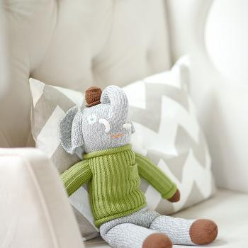 Tufted Nursery Glider, Contemporary, nursery, Me oh my!