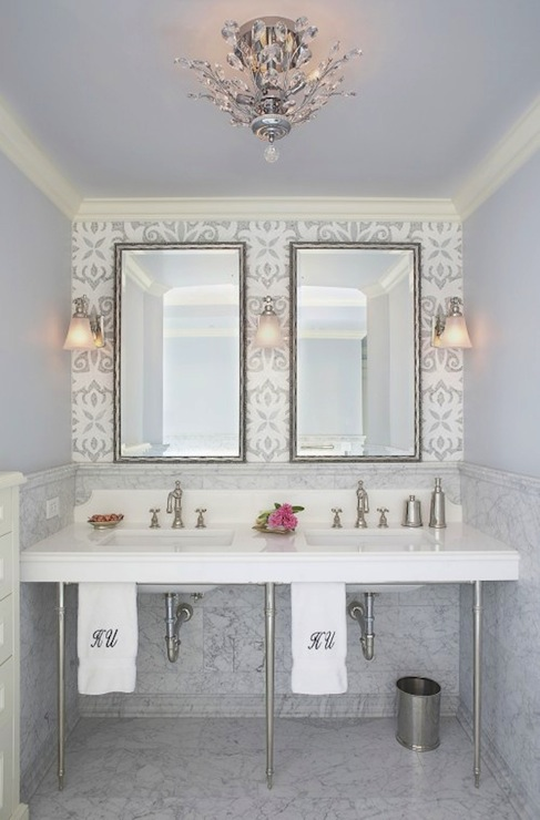 Lilac Bathrooms Design Ideas