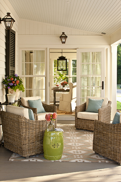Beadboard Covered Porch Cottage Porch Southern Living