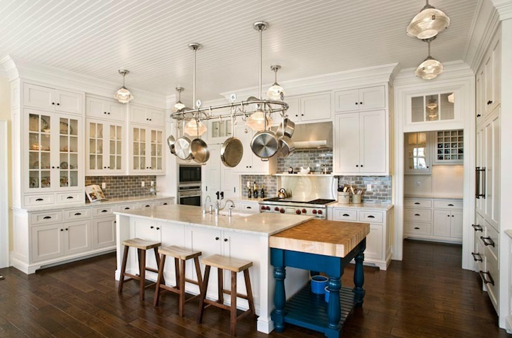 Beadboard Kitchen Ceiling Design Ideas