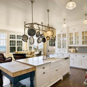 Beadboard Ceiling, Traditional, kitchen, Mitch Wise Design