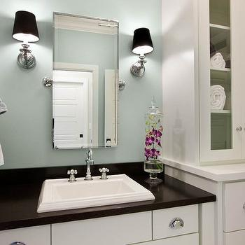green bathroom color ideas.  Gray Green Bathroom Paint Color Design Ideas