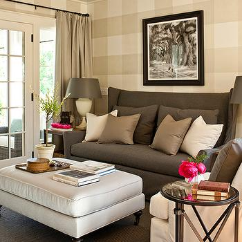 Wingback Sofa Design Ideas