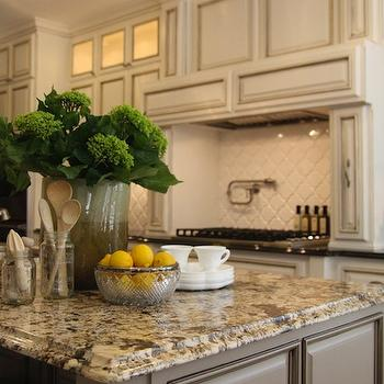 Gold Granite Countertops, Transitional, kitchen, M. E. Beck Design