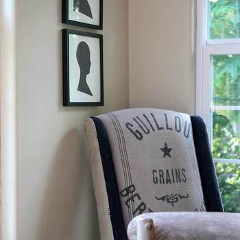 Burlap Dining Chair, Cottage, dining room, My Sweet Savannah