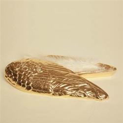 Gold Angel Wing Box