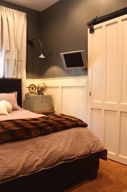 Sliding Barn Door, Contemporary, boy's room, Martha Stewart Seal, My Sweet Savannah
