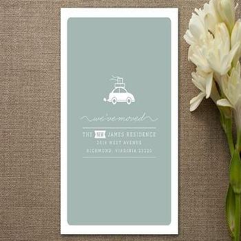 Cargo Moving Announcements by carly reed at Minted.com