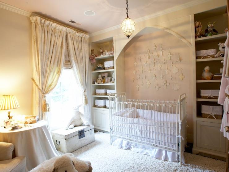 Nursery Crib Alcove Traditional Nursery Tammy Connor