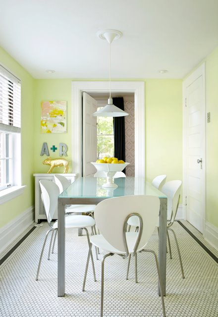frosted glass dining table design ideas