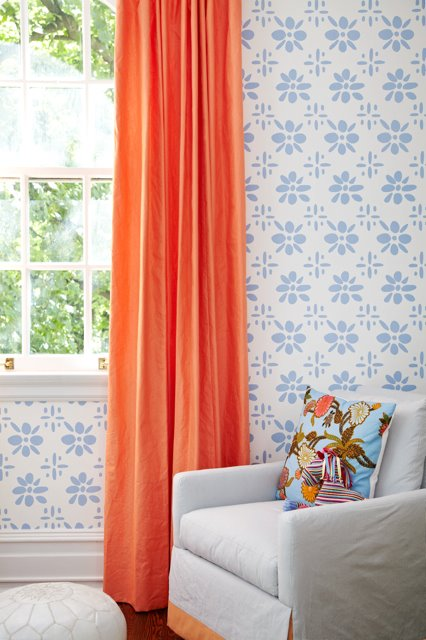 Aqua And Brown Shower Curtain Orange and Tan Curtains