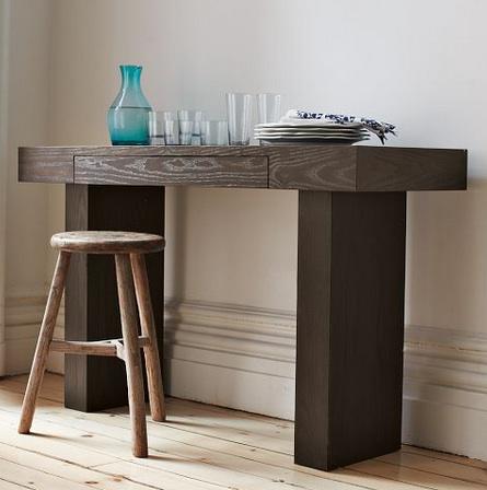 west elm console table West Elm Terra Console Table Look 4 Less west elm console table