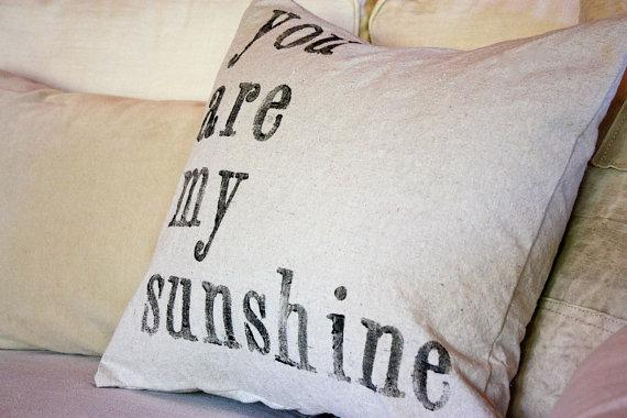 8x10 You Are My Sunshine Print By Gusandlula On Etsy