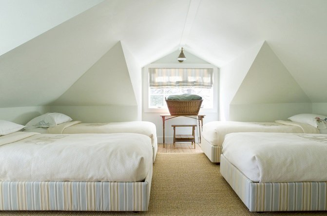 Beds For Attic Rooms attic bedroom design ideas