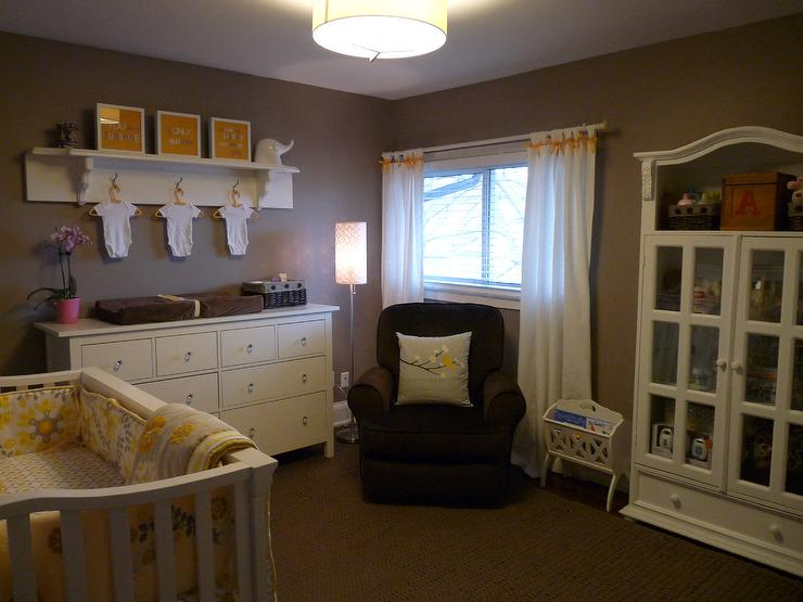 Nursery Benjamin Moore Ashley Gray