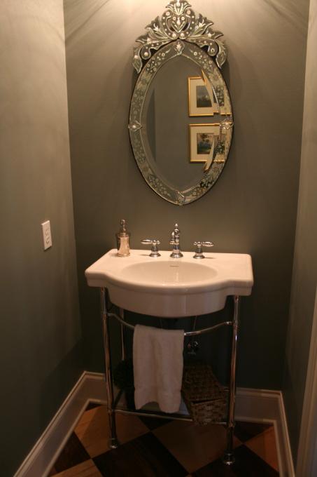Gray Rooms French Bathroom Benjamin Moore Sea Pine