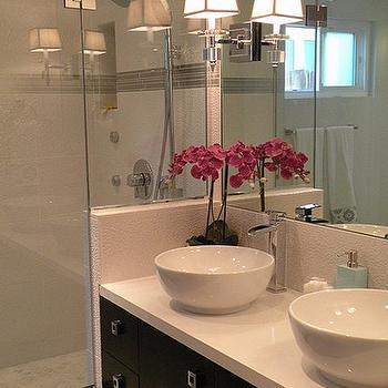 Floating Double Vanity, Contemporary, bathroom, HGTV