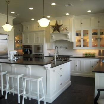 Honed Black Granite Countertops, Traditional, kitchen, HGTV