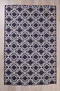 Flat Weave Double Quatrefoil Rug, Urban Outfitters