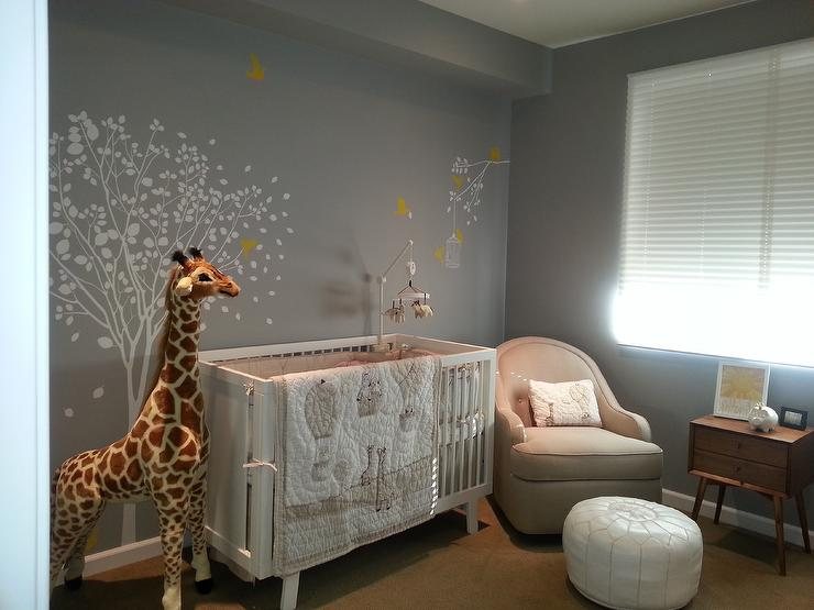 Gender neutral nursery transitional nursery for Baby room decor ideas unisex