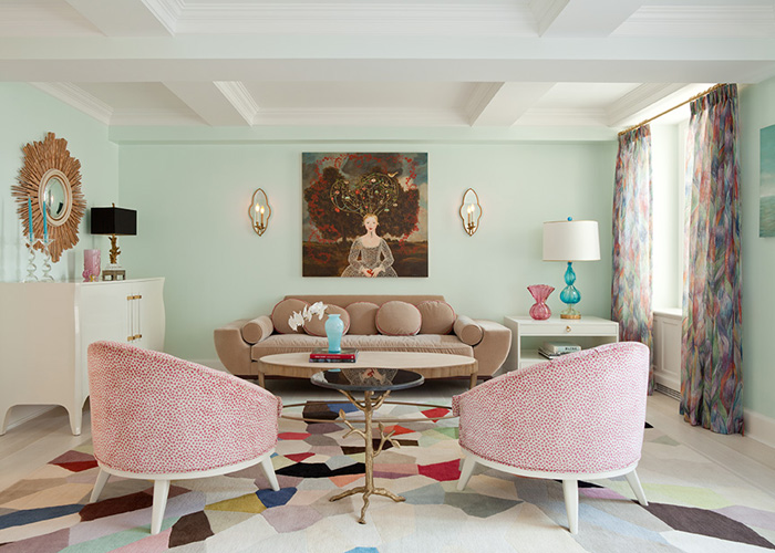 Pastel toned living room eclectic living room fawn for Living room ideas pastel