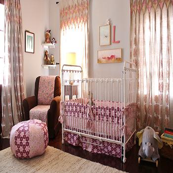 Pink and Gray Nursery, Transitional, nursery, Look Linger Love