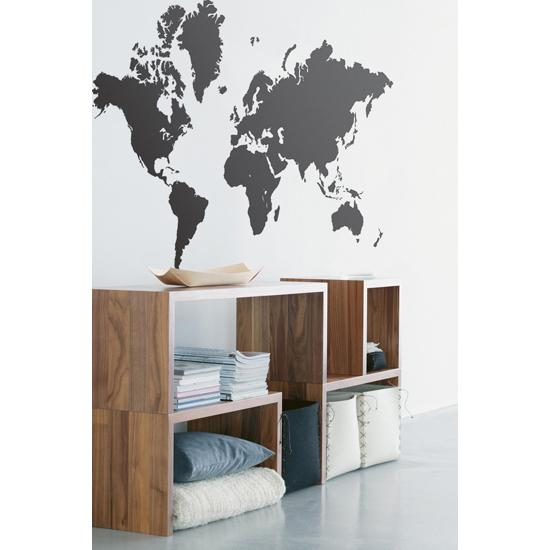 World Map Wall Decal By Ferm Living Spark Living Online