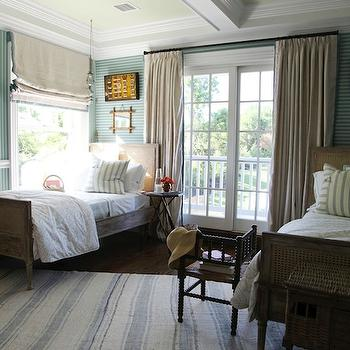 Blue Boys' Room, Cottage, boy's room, Tammy Connor Interior Design