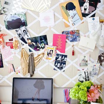 Hidden Bulletin Board Design Ideas
