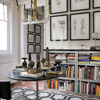 David Hicks Rugs, Eclectic, den/library/office, Nuevo Estilo