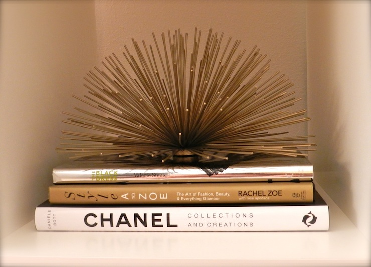 Brass Sea Urchin - Contemporary - den/library/office - Gold & Gray
