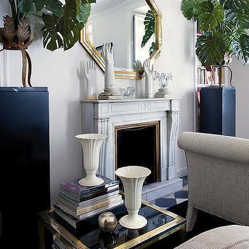 Octagon Mirror, Transitional, living room, Nuevo Estilo