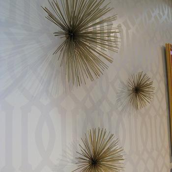 Kelly Wearstler Wallpaper, Contemporary, entrance/foyer