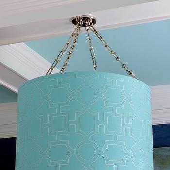 Turquoise Walls, Cottage, dining room, Pratt and Lambert Azurean, Mabley Handler