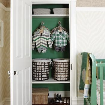 Boy's Closet Design, Contemporary, nursery, Para Paints Mclennan Lane, Sarah Richardson Design