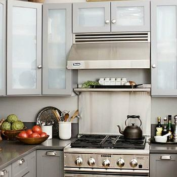 Frosted Glass KItchen Cabinets Part 4