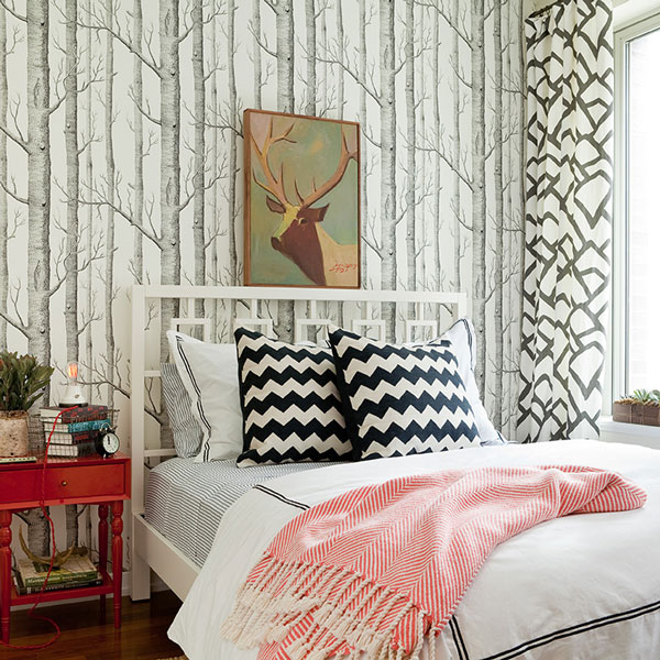 West elm window headboard contemporary bedroom jenny for West elm window treatments