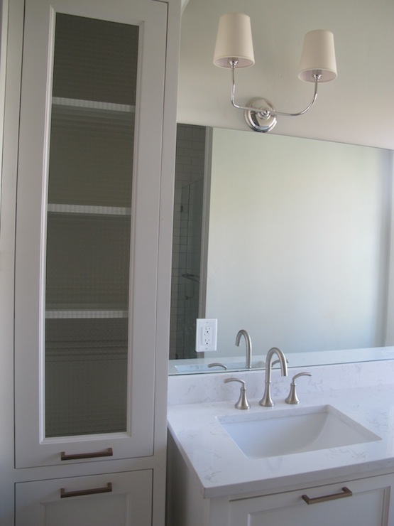 Cambria Torquay Quartz Transitional Bathroom
